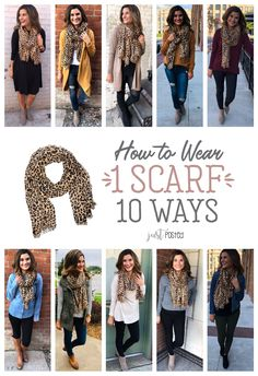 How to Wear 1 Leopard Scarf 10 Different Ways! How to Wear 1 Leopard Scarf 10 Different Ways! Celiasilvagrave celiasilvagrave Acessórios How to Wear 1 Leopard Scarf 10 different […] outfit for concerts Mode Outfits, Casual Outfits, Ladies Outfits, Fashion Outfits, Fashion Mode, Fashion Trends, Womens Fashion, Work Fashion, Fashion Jewelry