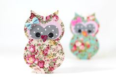 Colorful Owl wall Hanging  girls room  Wooden owl by PrettymShop