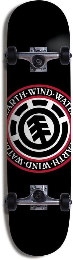 "Element US Skateboards : Completes - Seal --------------------------------------------------- Damn! Reel sick an total aww board! If it comes in 8.5"", need!!!"