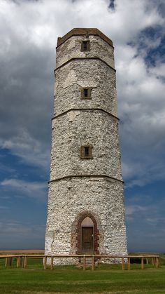 The Old Flamborough Head Lighthouse, East Yorkshire, UK- by storm6511
