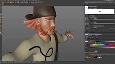 The Next Brush Strokes for BodyPaint 3D in Cinema 4D