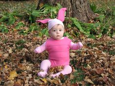 OMG OMG OMG. This is awesome. (Piglet Infant Halloween Costume via Etsy)