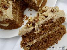Coffee and walnut victoria sandwich week 36