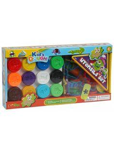Super zabawa, rozwija wyobraźnię i zdolności manualne dzieci. Żywe kolory pobudzają zmysł kreatywnego myślenia. Masa jest lekka i łatwa w formowaniu. Nauczy dziecko magii łączenia kolorów. Całość zapakowana w estetyczne kolorowe pudełko. Masa jest bardzo łatwa w użyciu - wystarczy wyjąć z pojemnika i ugniatać a po skończonej zabawie przełożyć z powrotem do pojemnika i szczelnie zamknąć.