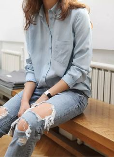 Find images and videos about girl, fashion and cute on We Heart It - the app to get lost in what you love. Estilo Fashion, Tomboy Fashion, Korean Fashion, Ideias Fashion, Girl Fashion, Womens Fashion, Mode Outfits, Chic Outfits, Fashion Outfits