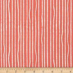 Designed by Jay-Cyn for Birch Organic Fabric, this GOTS certified organic cotton print fabric is perfect for quilting, apparel and home décor accents. Colors include coral and ivory.
