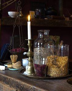 natural-magics:    pretty tea blends.