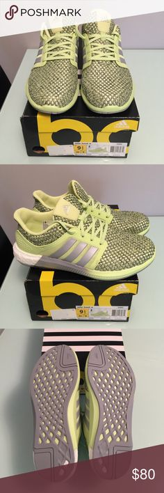 Adidas Solar Boost Sneakers Brand New in Box! *Feel free to MAKE AN OFFER with the OFFER BUTTON :)  - Lace-up mesh running shoe featuring innovative full-length boost foam midsole technology that provides optimal energy return and cushioning - Soft engineered mesh upper and overlay for breathability - Molded heel around the midfoot give a secure fit - Durable and superior-grip rubber outsoles Adidas Shoes Sneakers