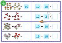 Rompompom   Magnetische rekendoos   Werkblad   Plus- en minsommen   Zwijsen Circuit, Calendar, Holiday Decor, School, Schools