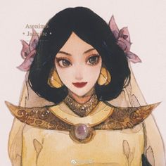 Disney Dream, Disney Love, Disney Magic, Disney Princess Jasmine, Disney Princess Art, Disney Princesses, Disney And Dreamworks, Disney Pixar, Disney Songs
