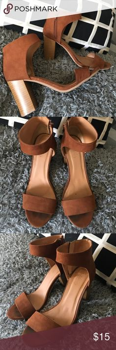 CR chunk heel Worn a couple times. Very comfortable. Good for work or night occasions. Hate to let them go but I have to clear out my closet. Offers are welcome Charlotte Russe Shoes Ankle Boots & Booties