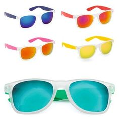 HARVEY WAYFARER STYLE SUNGLASSES with Uv400 Protection & Pearlescent Lenses