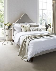The Inferno double bed in Taupe £745  http://www.sofa.com/shop/beds/upholstered-beds/inferno#220-BLCTAU-0-0
