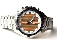 #Skate Watch - #Recycled Skateboards - #Wrist Watch #Made in Canada SecondShot at Etsy.com