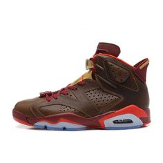"""best cheap a0748 62af6 Air Jordan 6 (VI) Retro """"Championship Cigar"""" Raw Umber Chilling Red-Team  Red-Metallic Gold SCbYm from Reliable Big Discount!"""