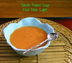 Tomato Fennel Soup, something to do with that pesky fennel that keeps showing up in my organic share!