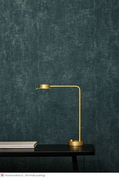 - Imagine what your wall can be Wallpaper Accent Wall, Teal Bedroom Walls, Indian Home Decor, Dark Teal Bedroom, Wall Colors, Luxury Interior Design, Interior Wallpaper, Interior Deco, Wall Coverings