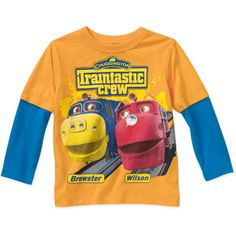 Baby Boys' Long Sleeve Hangdown Chuggington Tee @ Walmart.com