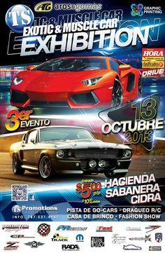 Exotic & Muscle Car Exhibition @ Hacienda Sabanera, Cidra #sondeaquipr #exoticmusclecarexhibition #haciendasabanera #cidra