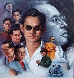Bhumibol Adulyadej, Koning van Thailand: de levende God.