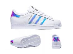 Adidas Superstar Holographic Striped