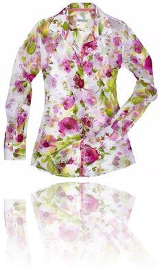 Come un dipinto è il motivo floreale della camicia Webb & Scott powered by Migor ^_^ Seguici su #RedisRappresentanze www.redisrappresentanze.it