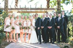 Light Pink bridal party Florida stephiejoy.com  Kelly + Trevor Wedding Sneak Peek | Stephie Joy Weddings » Stephie Joy Photography : Jacksonville and St. Augustine Florida Wedding and Life...