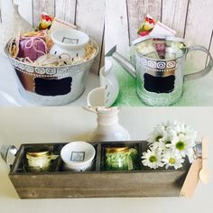 Mother's Day scented wax burner treats. Beautiful sets with all you need to start burning. #mothers day #gift #scented