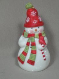 HALLMARK KEEPSAKE - Welcome, Friends! , Snowman Ornament, 2006, $3.95