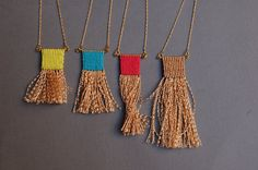Macrame Necklace by Kekkavics on Etsy
