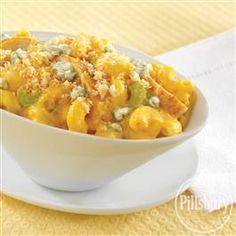 Buffalo Chicken Macaroni and Cheese from Pillsbury® Baking