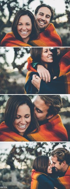 Blanket love xx Woodsy Engagement Session