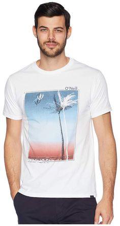 O'Neill Treez Short Sleeve Screen Tee Men's T Shirt Teen Beach, Graphic Tees, Graphic Design, Man Photo, Beach Club, Mens Tees, Mood Boards, Knitwear, Shirt Designs