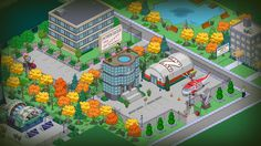 Springfield Simpsons, Springfield Tapped Out, The Simpsons Game, Funny Laugh, Layouts, Building, Terraria, Aurora, Games