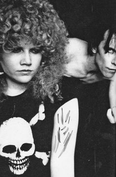 Poison Ivy and Lux Interior from the Cramps