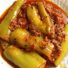 Ingredients: Yogurt 1/2 cup Banana peppers (6-8) Tomatoes chopped (3 medium) Rai seeds (1/2 tsp) Kalongi (1/2 tsp) Methi seeds ( 1/2 tsp) Curry leaves (3-4) Mustard powder 1 tsp Coriander powder 1 …