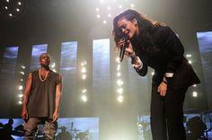 Watch Rihanna, Kanye West Headline DirecTV Pre-Super Bowl Concert #Rihanna #KanyeWest