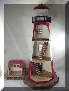 Point Luck Lighthouse Interior