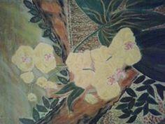 Lukisan Anggrek