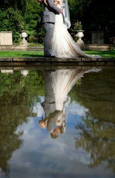 Foto dos reflexos.