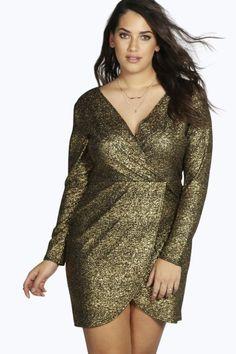 plus gold dress ellie