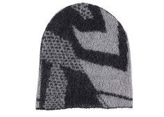 Muts in grijs en zwart 'Zigzag' van Bella Ballou - www.legoutdescouleurs.be
