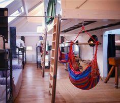 hostel, hotel design, king kong hostel rotterdam