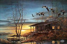 terry redlin prints for sale | Terry Redlin Autumn Evening7