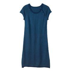 Buy Striped Amy Dress -  Mallard Everglade from Hush: