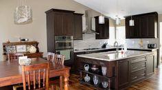 Dark mahogany cabinets - The Affordable Companies