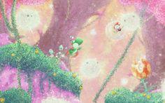 Fleecy Dream by Orioto on DeviantArt Super Mario Games, Super Mario Art, Dragon Tattoo Art, Mario And Luigi, Mario Bros, Pop Culture Art, Game Concept Art, Video Game Art, Video Games