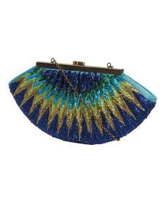 My awesome cousin Amanda got this for me for my birthday! (and herself, we are clutch twins!) // Bugle Beaded Clutch | FOREVER21 - 1084804352