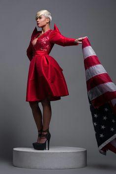 AHFOTO.NET   Stylist/Designer: Gege Gilzene (G3 Concepts)  Model: Tiara Rogers Photo: Alex Hudson Photo
