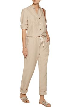 Shop on-sale ENZA COSTA Twill jumpsuit. Browse other discount designer Jumpsuits & more on The Most Fashionable Fashion Outlet, THE OUTNET.COM